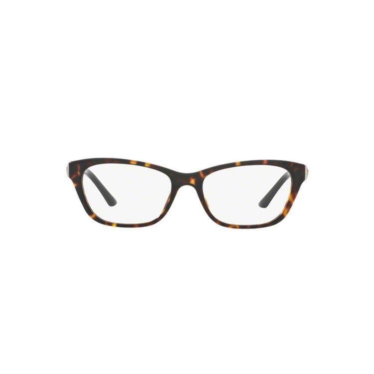 e98d4322c6b5 Versace Women s VE3220 5165 52 Cateye Plastic Clear Eyeglasses ...