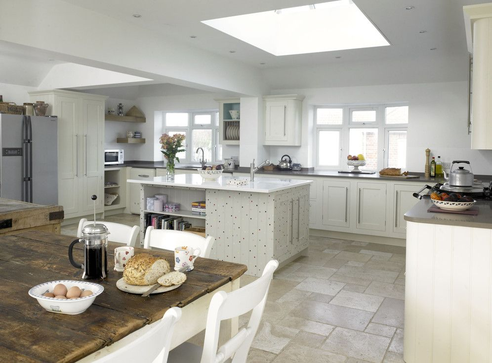traditional open plan living dining kitchen - | Beresford house ...