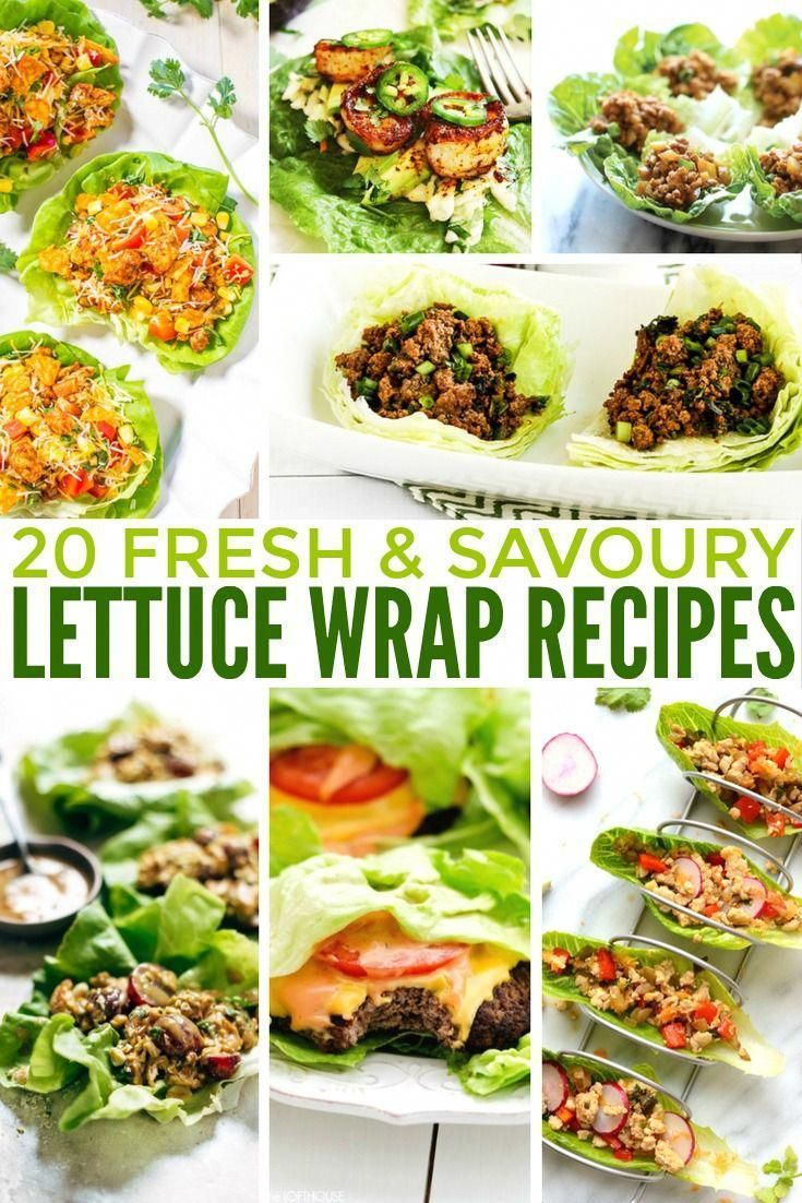 ✔ Healthy Salads Clean Eating Lettuce Wraps #fitness #rawpressery #allgoodnobad