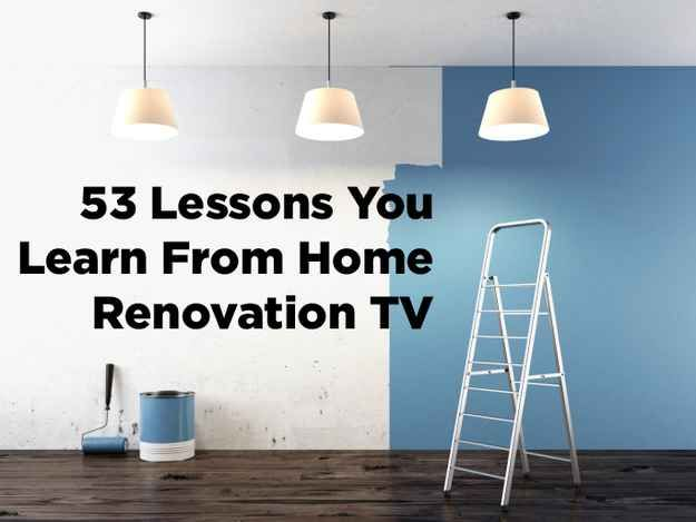 53 Lessons You Learn From Watching Too Much HGTV - There are no two people in the world who can successfully share a bathroom in the morning. HA!