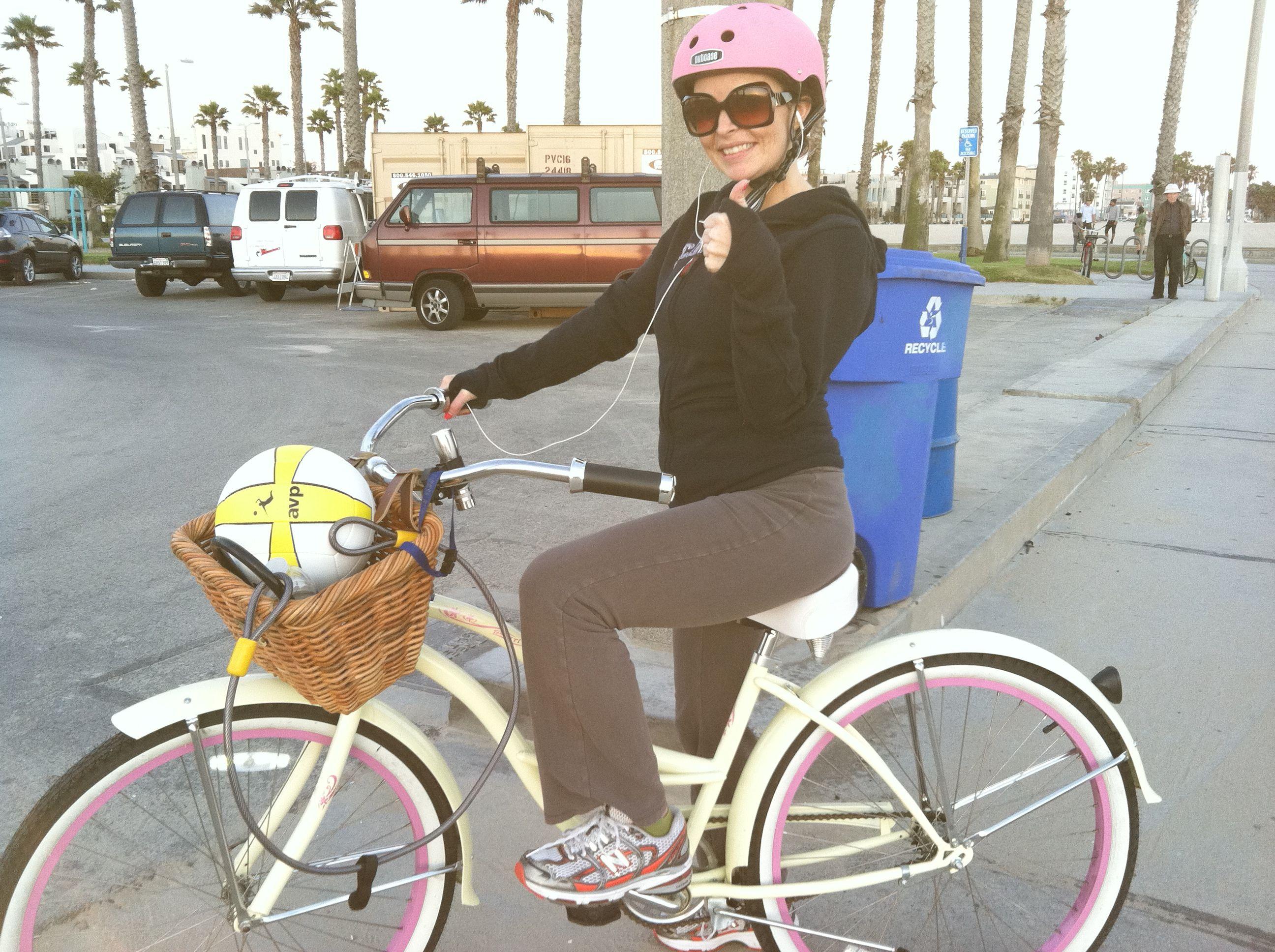 I Love My Beach Cruiser And Nutcase Helmet