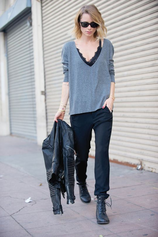 How To Style The Menswear Inspired Fashion Trend - Outfits And Ideas ... f94d81785