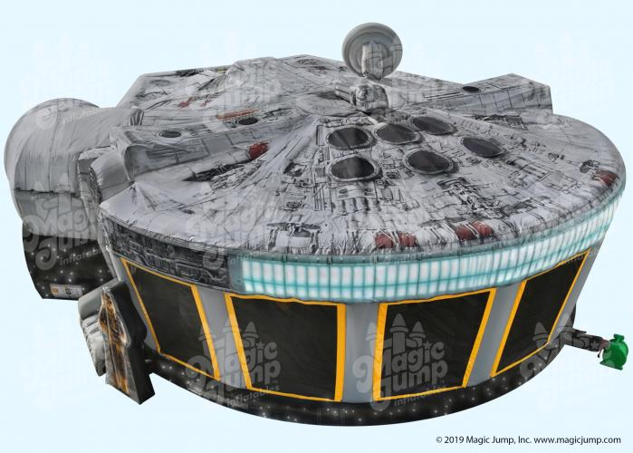Star Wars Millennium Falcon Inflatable Combo Star Wars Merchandise Millennium Falcon Star Wars