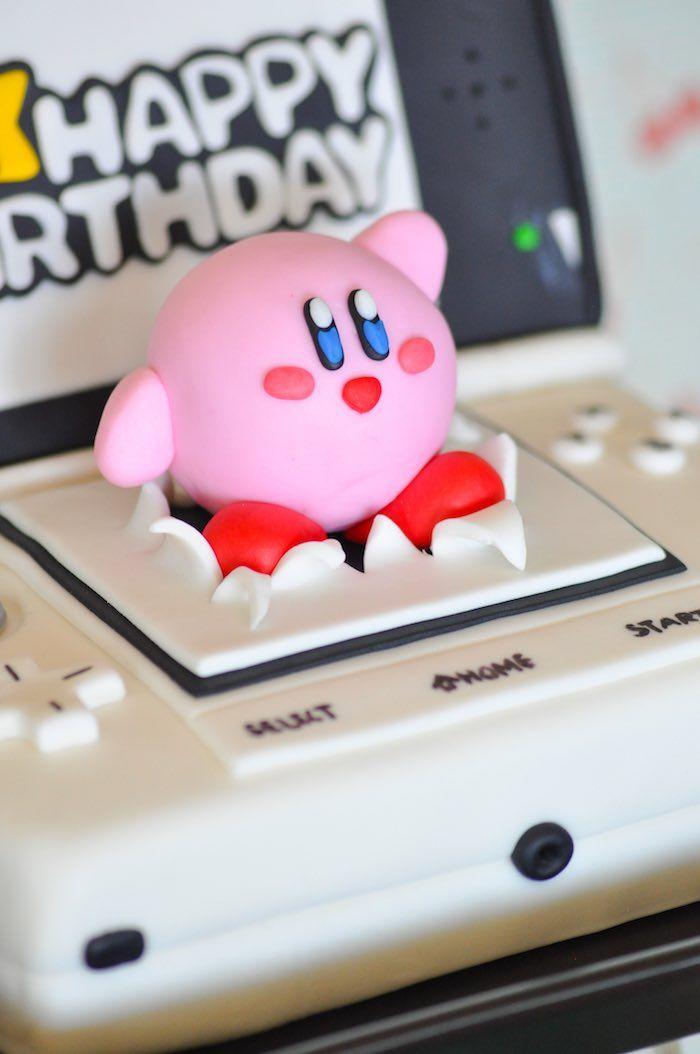 Free Printable Kirby Cupcake Toppers Kirby Nintendo Printables