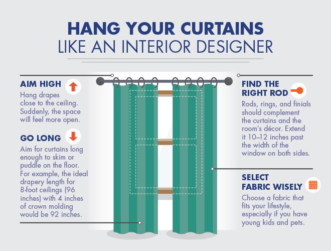 How To Hang Curtains Like An Interior Designer Above Beyond