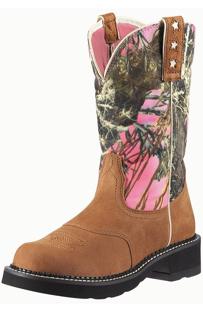 478815e3f49 Ariat Women's ProBaby Boots - Dry Well Tan/ True Timber   Southern ...