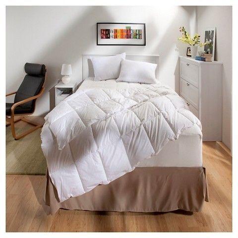 Threshold Temperature Regulating Comforter All Seasons Warmth White