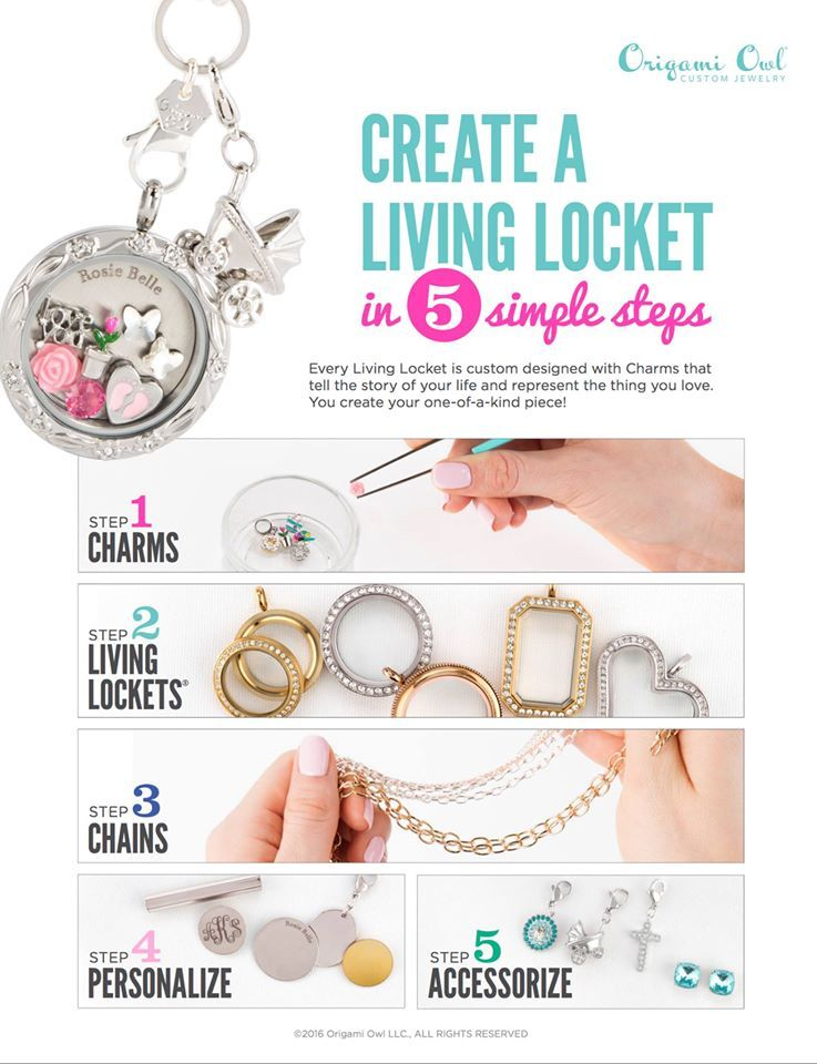 Create A Living Locket In 5 Easy Steps Origami Owl Jodicoffey Origamiowl Com Pinterest Living Lockets And Origami Owl