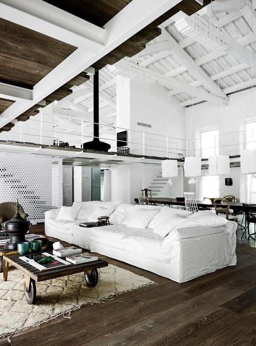 Einfaches Geländer Loft style Design  Interieur Pinterest - einfache renovierungsideen zuhause