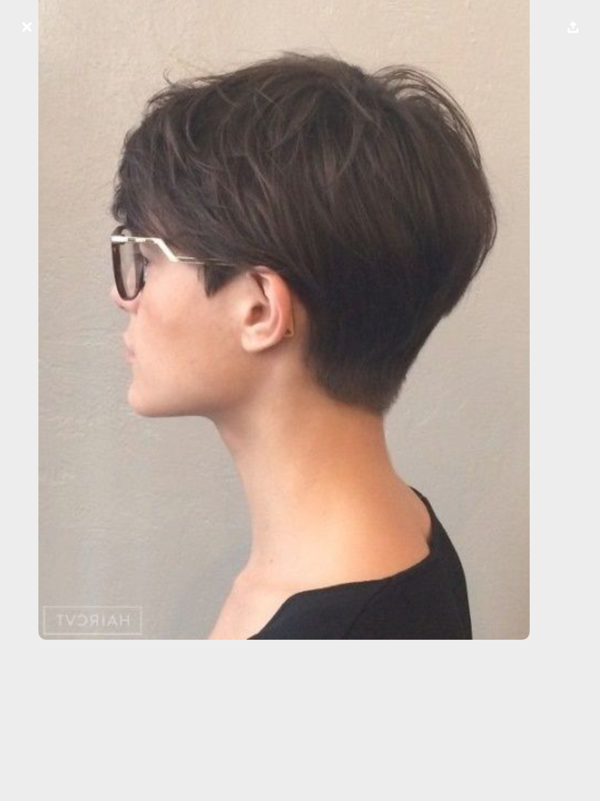 Pin by Alina Betts on Kapsels  Elegant short hair, Thick hair