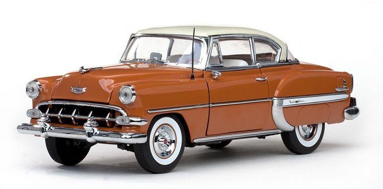 Sun Star 1954 Chevrolet Belair Hard Top Coupe Diecast Car