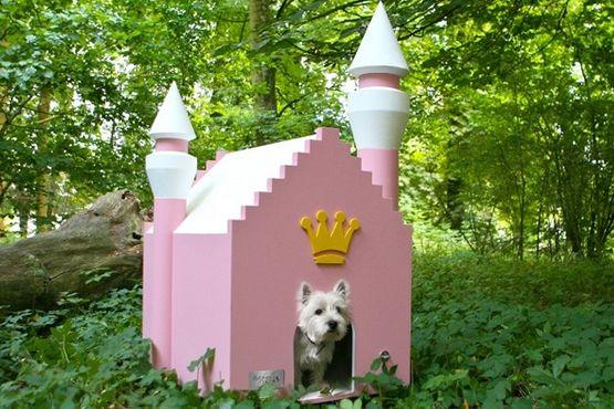 Pink Princess Dog Kennel Dog House Dog House Diy Dog Mansion