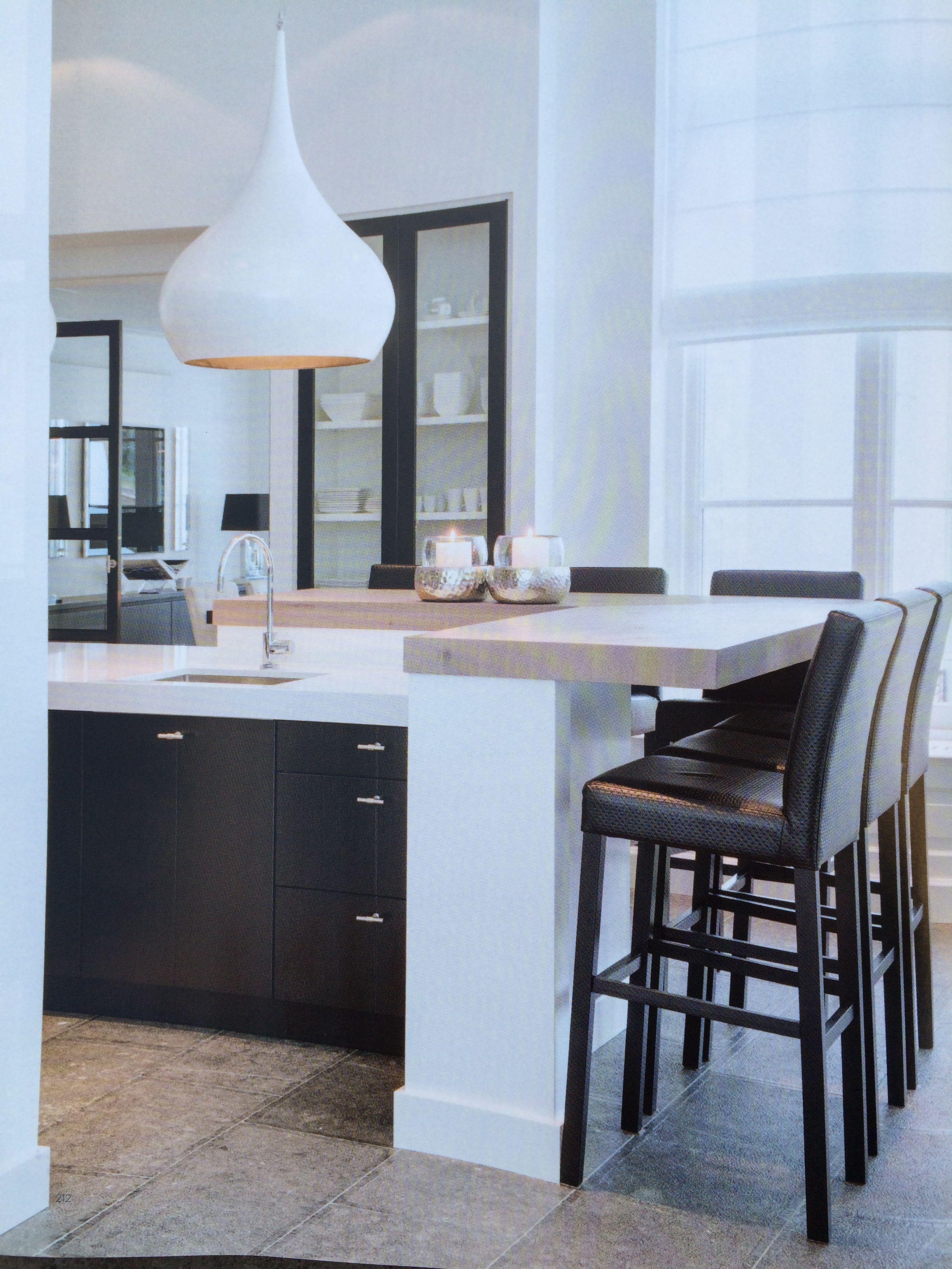 Edmon Keukens Ontwerpen : Bar om de hoek keukens pinterest keuken keukens en houten keuken