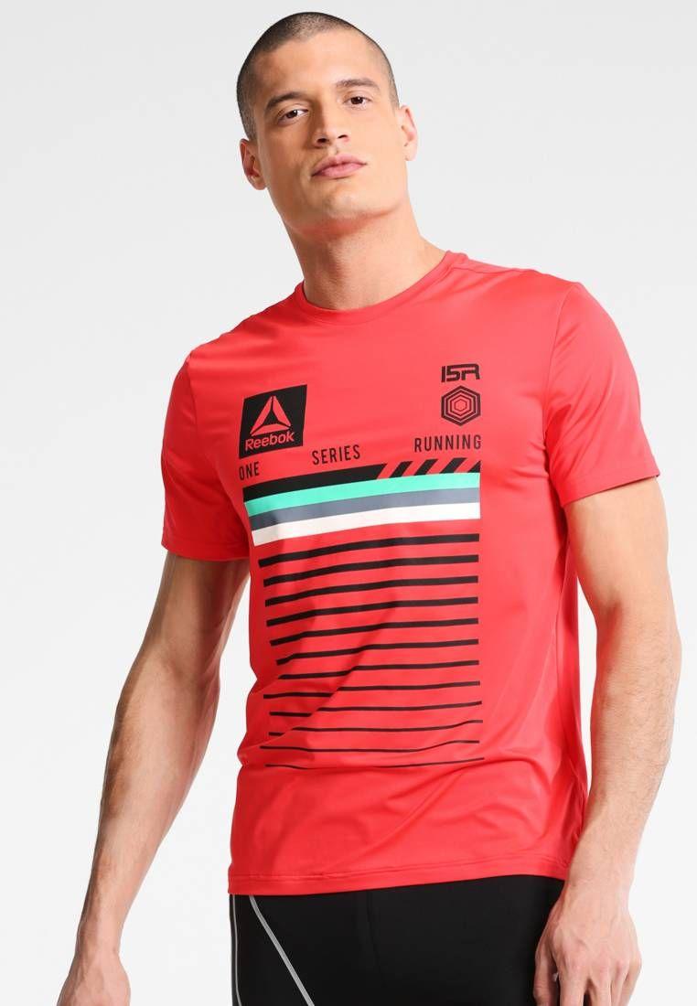 Reebok SPEEDWICK - Camiseta print - glow red KcEDiC