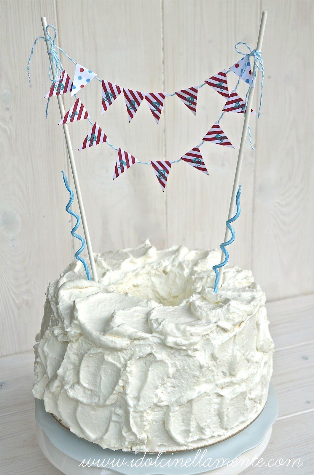 Una torta esagerata…Chiffon cake alla gianduia ricoperta di panna