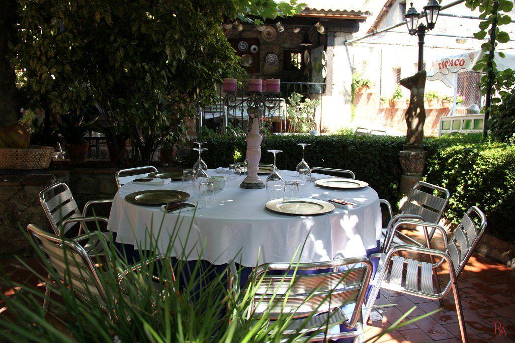 Jardin deco de charme img restaurante rincón del Ángel