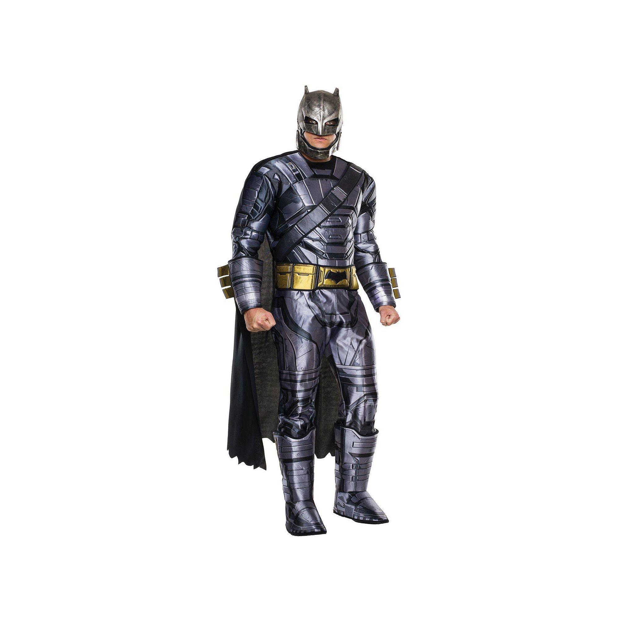 Adult Batman v Superman Dawn of Justice Deluxe Armored Batman Costume Menu0027s Multicolor  sc 1 st  Pinterest & Adult Batman v Superman: Dawn of Justice Deluxe Armored Batman ...