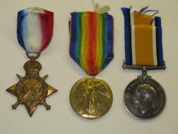 WW1 Medal Trio To S-4133 Pte R. Anderson Of The Gordon Highlanders Regiment  1914-1918 A superb WW1 trio of medals with ribbo… | British army, War  medals, Regiment