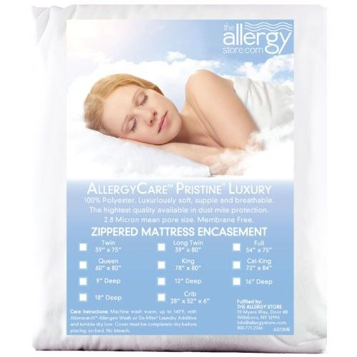 Dust Mite Pillow Covers New Pristine® Luxury Mattress Encasing Review