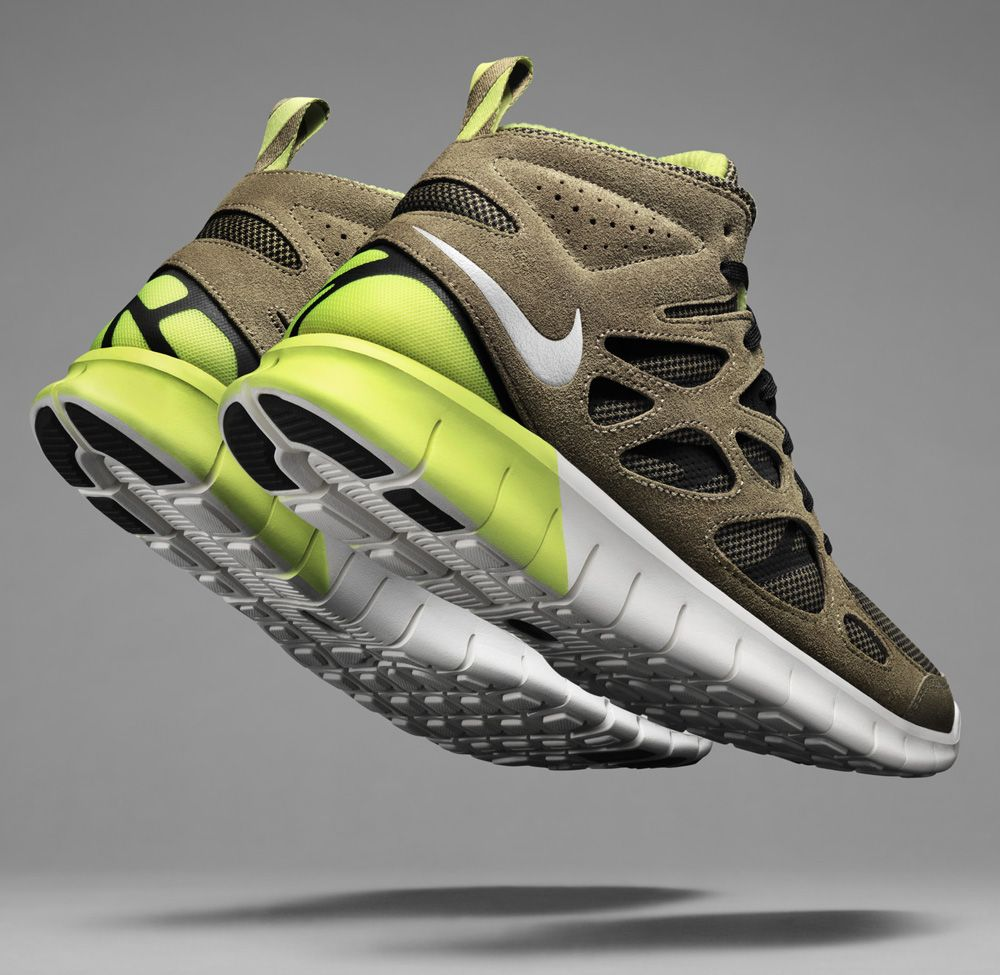 Nike Free Run 2 Mid SneakerBoot
