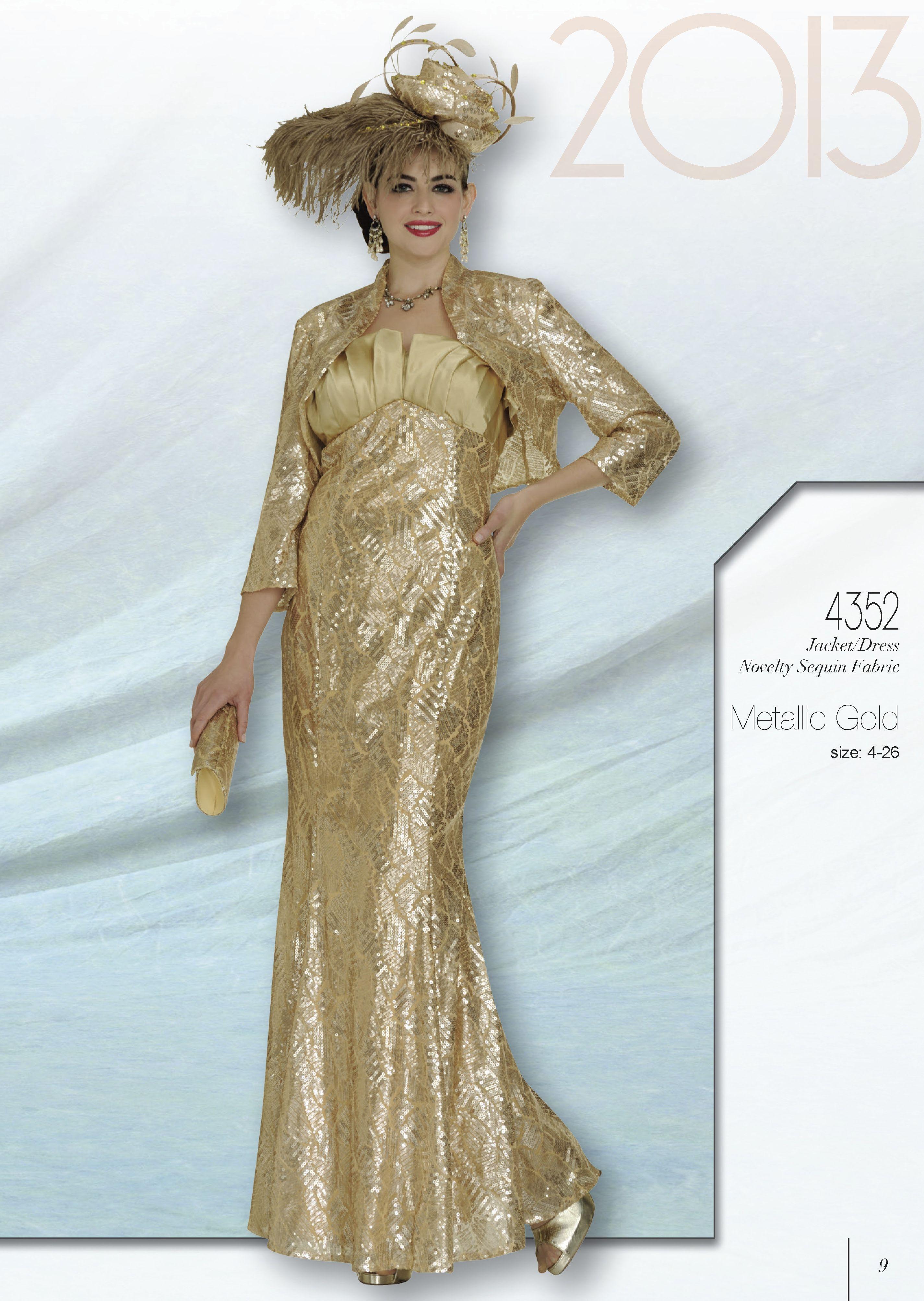 Elite 4352 $278.00 See Details Jacket/ Dress Novelty Sequin Fabric ...