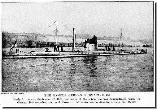 Diagram Of German U Boats Ww1