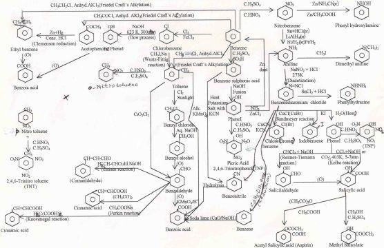 Organic Chemistry Reactions Chart Class 12 137 Best