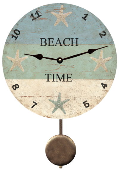 Starfish Beach Time Clock Beach Time Clock Beach