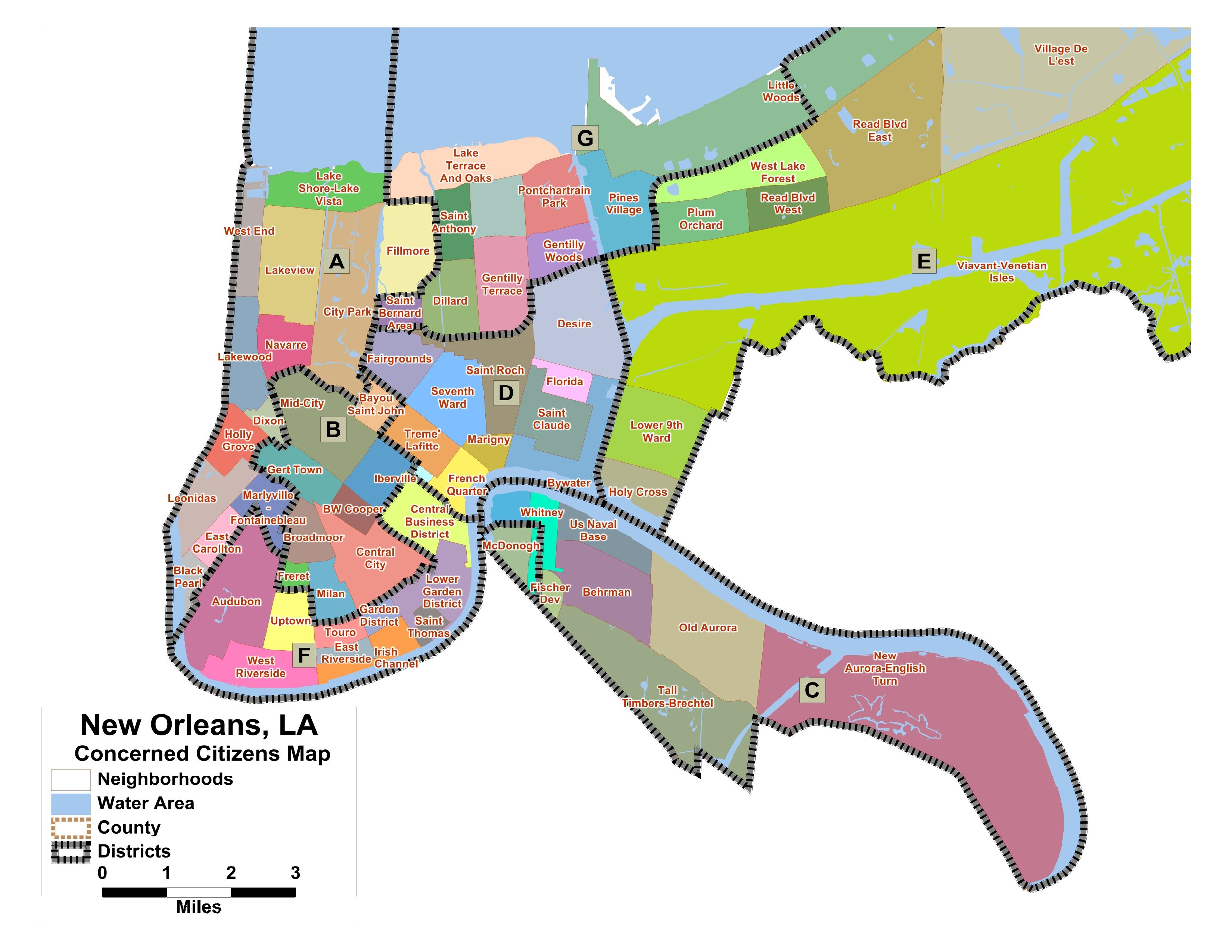 neighborhood map of new orleans Field Report Vista Leader Middle School Libraries New Orleans neighborhood map of new orleans