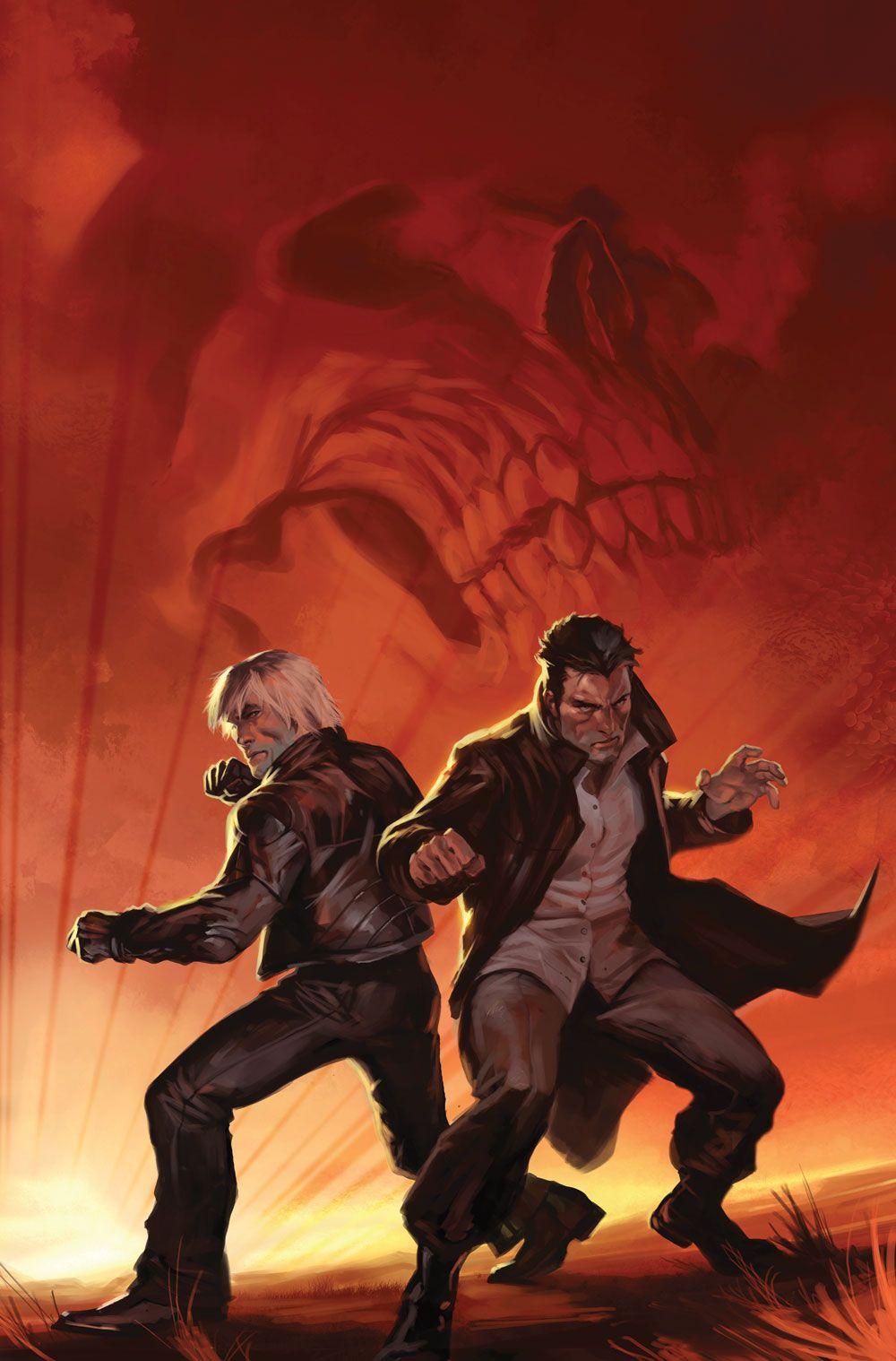 Ghost Riders: Johnny Blaze & Danny Ketch - Marko Djurdjevic