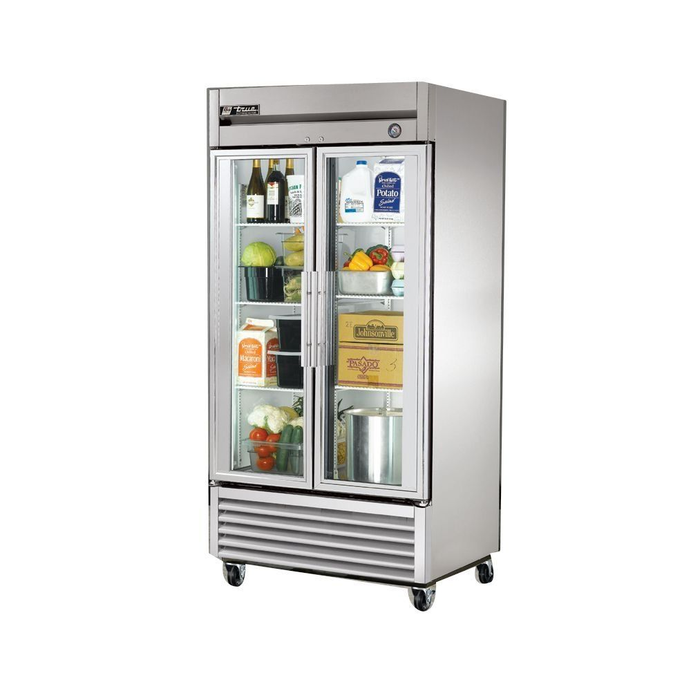 Amazon Com True T 35g 2 Door 35 Cu Ft Glass Door Refrigerator