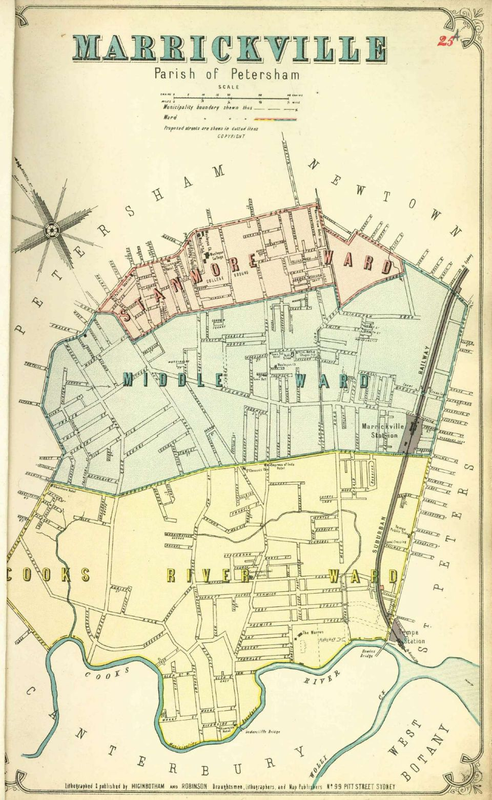 Atlas of the Suburbs of Sydney - Marrickville A 1886-1888 | The ...
