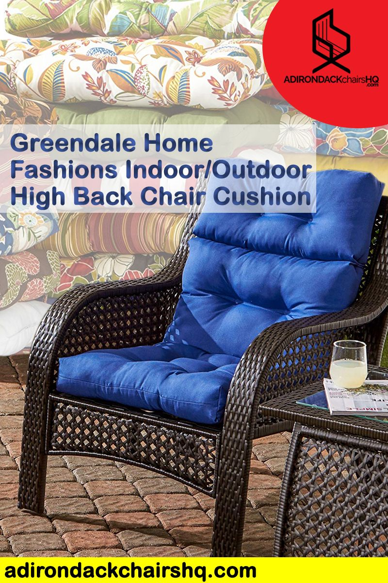 4 Adirondack Chair Cushions That Withstand Any Weather Adirondack Chair Cushions Chair Cushions Adirondack Chair
