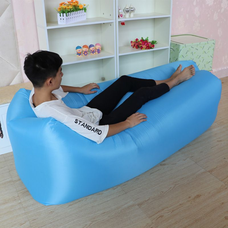 Foldable Portable Casual Lazy People Single Inflatable Sofa Bed