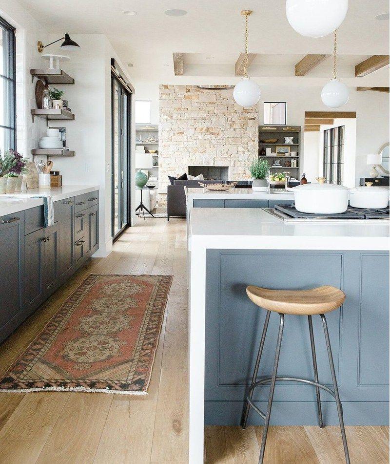 Home Interiors Website: Cocinas De Cabañas, Casa De Montaña