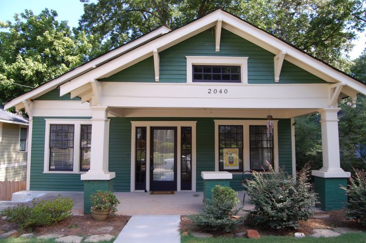 1920s Green Craftsman Google Search Macarthur Craftsman Pinterest Craftsman Bungalow