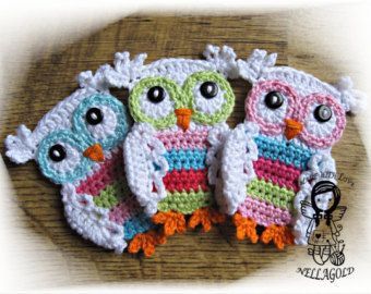 Crochet pattern crochet hat pattern crochet owl pattern hat with