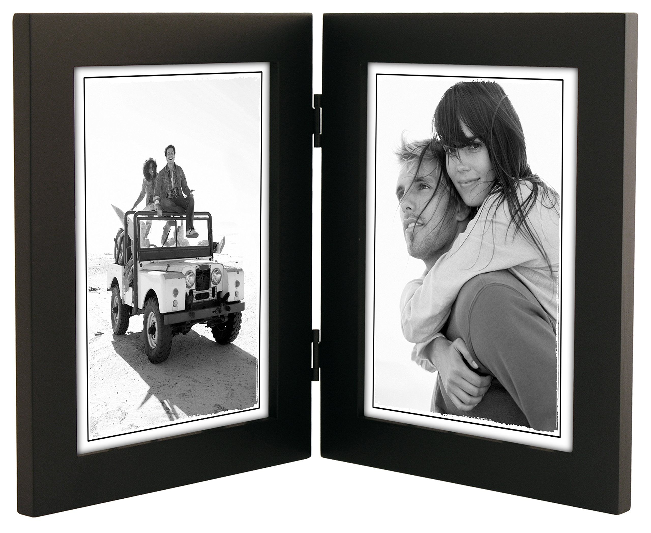Malden International Designs Linear Classic Wood Picture Frame