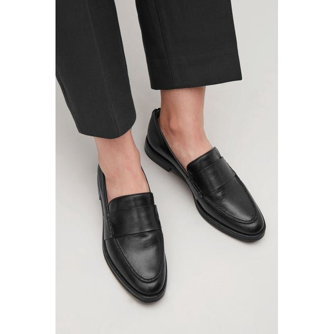 da0857b764 LEATHER LOAFERS - black by COS in 2018