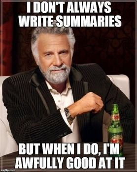 Write my summary for me