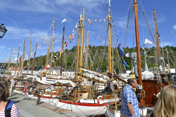 """The ""Colin Archer Row"" at Rysor Wooden-Boat Festival, Norway"