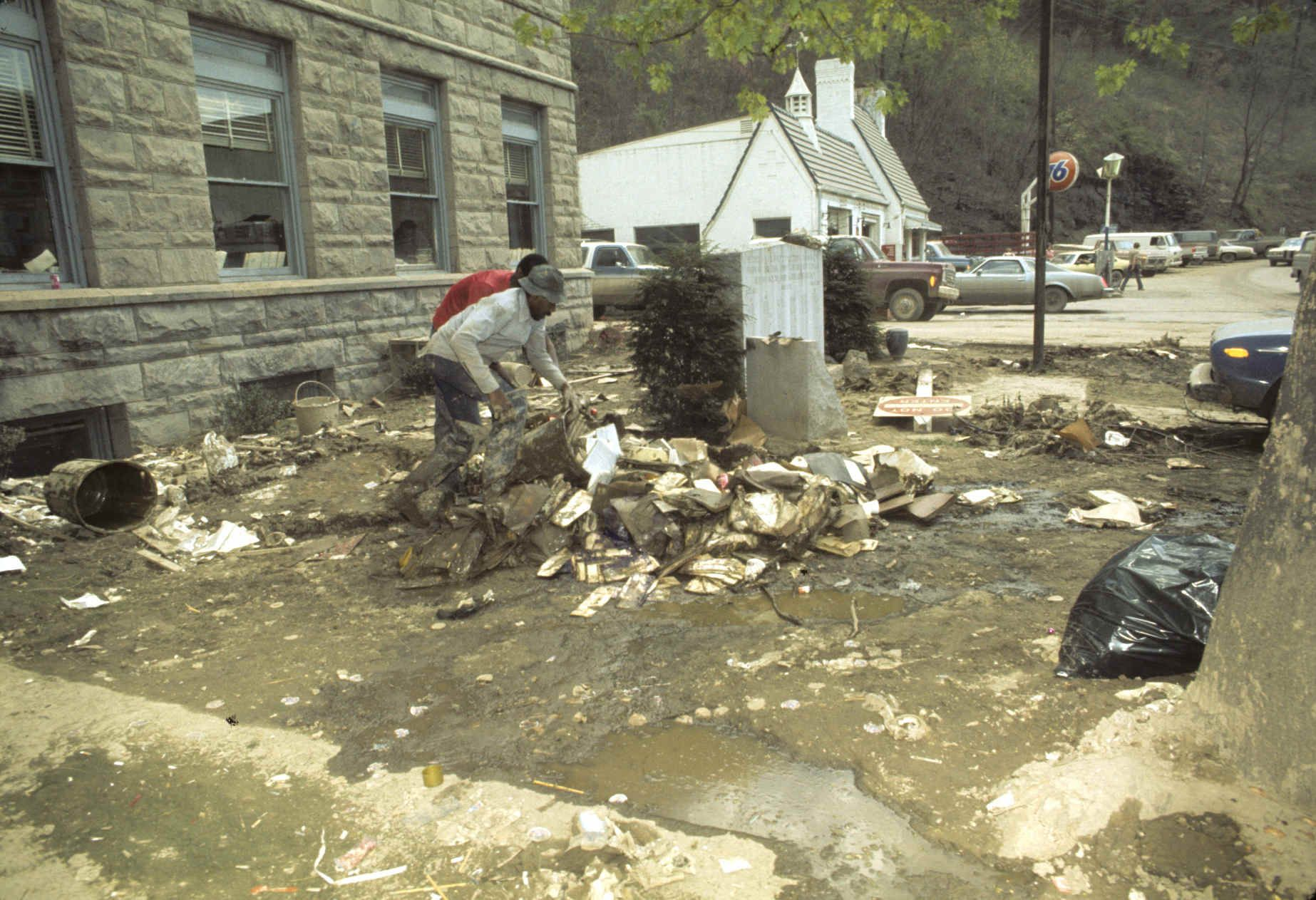 Flood Of 77 Clean Up Virginia Is For Lovers Appalachia