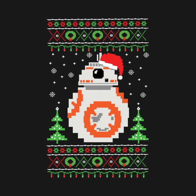 Check out this awesome 'BB-8+Ugly+Christmas+Sweater' design on ...