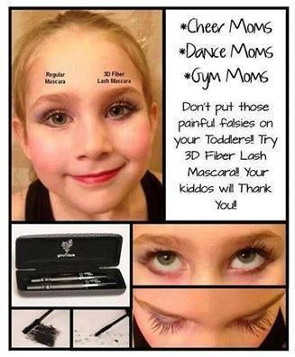 ead0b743fcf Safe for the little performers in your life! #younique #3dfiberlash #mascara  #fiberlash #dancemom