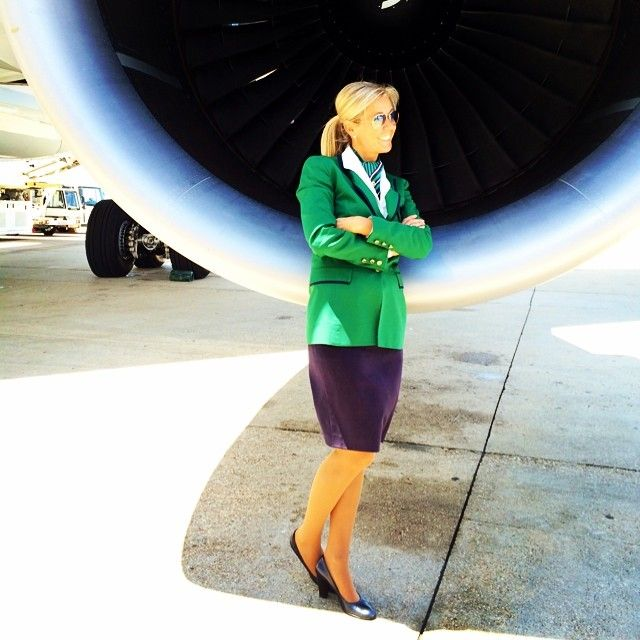 Alitalia air hostess Monica Debernardi Trilly @monichinatrillyInstagram photo   Websta (Webstagram)