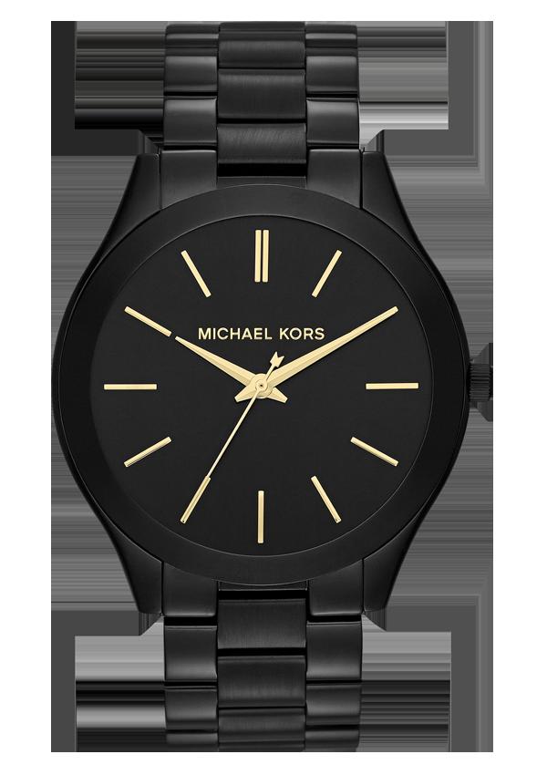 ca0178c7e85 Relógio Michael Kors Slim Runway Black - MK3221 As novidades elegantes e  carismáticas de jóias e relógios Michael Kors na loja online Góis Time    Secrets