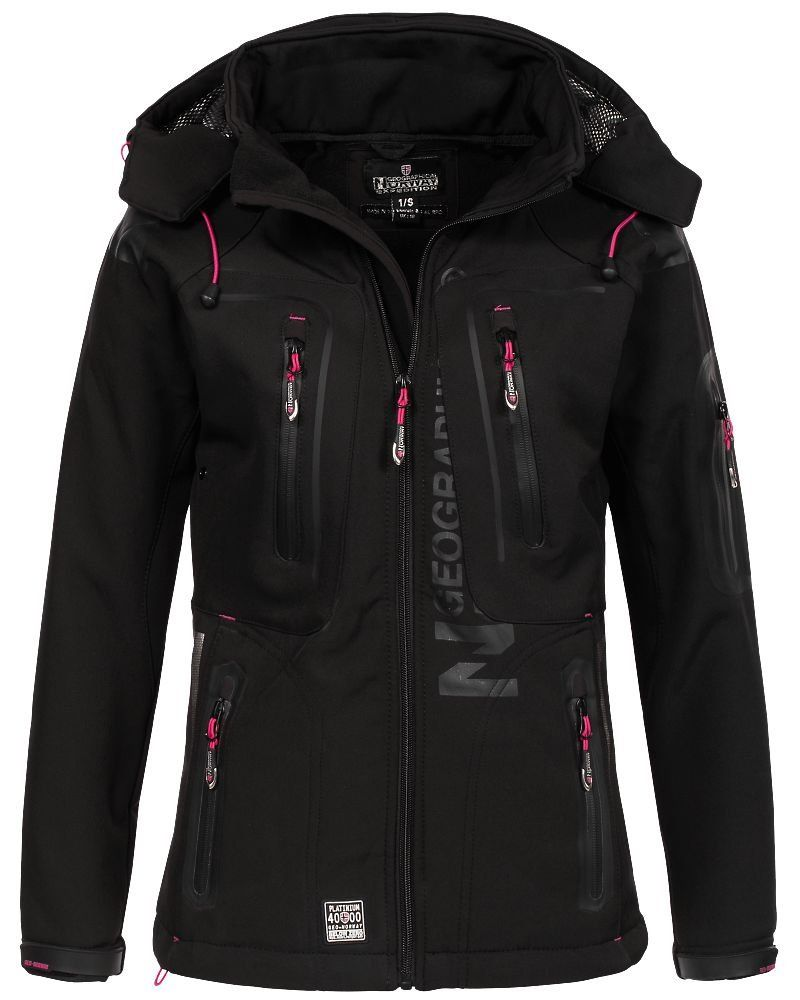 Geographical Norway Damen Softshell Outdoor Jacke Tassion