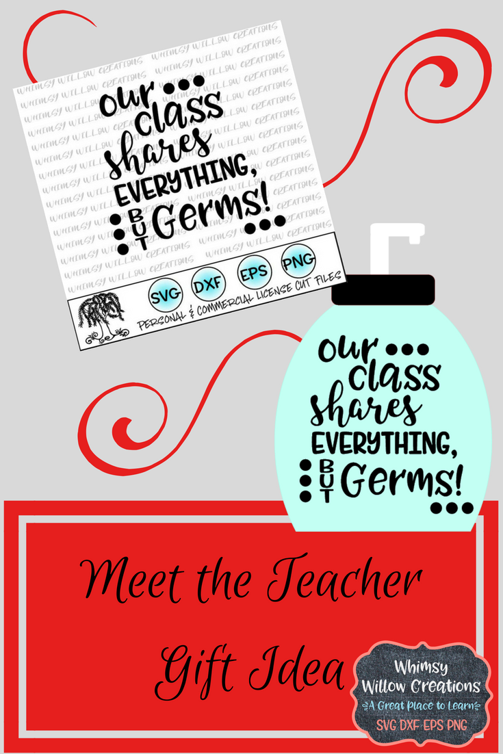 Meet the Teacher SVG   Keep those hands clean #meettheteacherideas