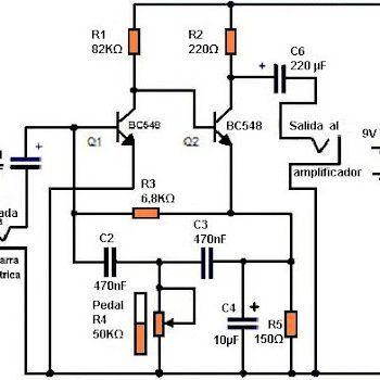 Circuitos de amplif. para guitarra eléctrica, alguno te
