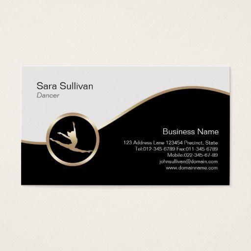 Dancer Jump Icon Dancer Choreographer Businesscard Business Card Zazzle Com In 2020 Teacher Business Cards Dancer Business Card Music Business Cards
